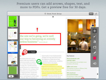 PDF Annotation Capability Finally Comes To Skitch For iOS | Sobre educación | Scoop.it