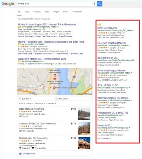 Google Drops Right-Side Ads From Desktop Results Pages: What Hoteliers Need to Know   Web marketing turistico   Scoop.it