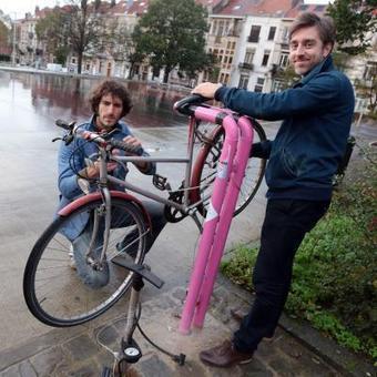 Saint-Gilles: la commune a installé des bornes de réparation de vélo en libre service dans la rue | Vélonews | Scoop.it