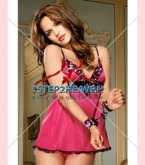 Hot Sequin Pink Babydoll | UK | cheap corsets | Panties | Bridal Lingerie | Cheap Bras | Scoop.it