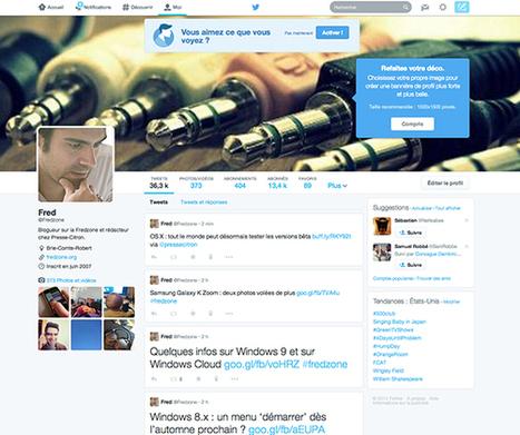 Activer et configurer le nouveau profil Twitter | Twitter for business | Scoop.it