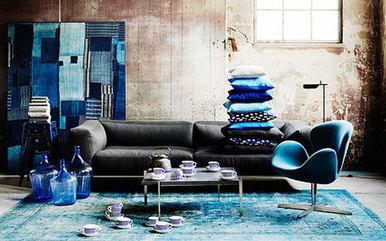 8 Idées pour décorer avec des nuances de bleu   Décoration maison intérieure et extérieure   Scoop.it