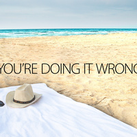 There Is a Right and a Wrong Way to Use a Beach Towel | Troy West's Radio Show Prep | Scoop.it