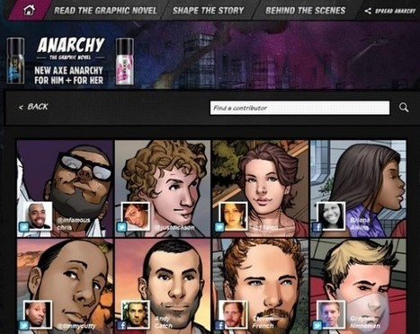 Axe innove avec sa BD interactive et sociale | Prionomy | Scoop.it