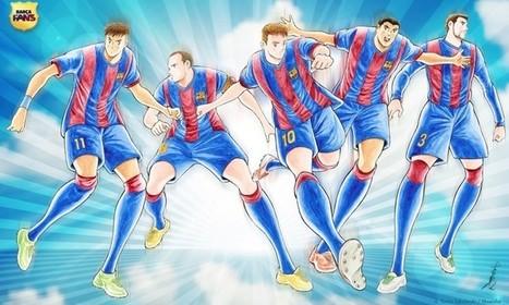 Japón: Homenaje a Leo Messi por Yoichi Takahashi (Supercampeones) | Noticias Anime [es] | Scoop.it