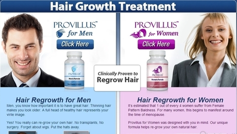 Provillus Hair Treatment – A Scam | Diet With Fruits | Scoop.it