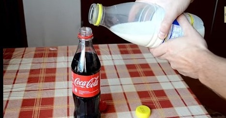 This is what happens if you put milk in a coke: - | Por si le interesa a tu salud! | Scoop.it