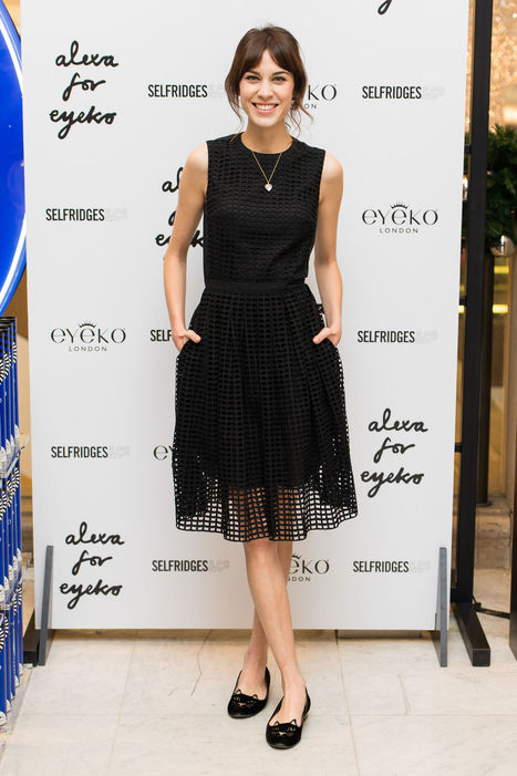 Little Black Dress + Cute Flats = a Totally Adorable Party Look - Glamour (blog) | Fashion | Scoop.it