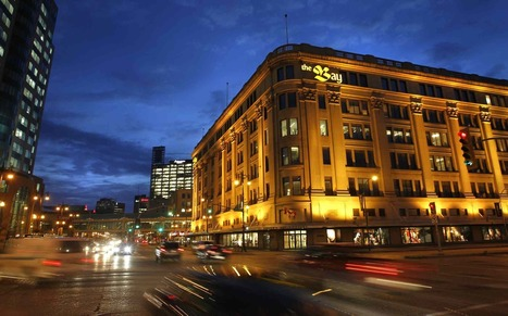 Hudson's Bay building downtown to close fourth floor | Winnipeg Market Update | Scoop.it
