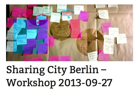 How can BERLIN become the sharing capital of Europe? | URBANmedias | Scoop.it