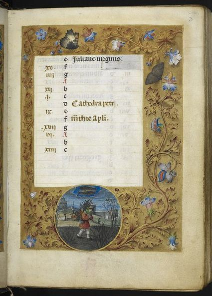Bookmarking Book Art - A Calendar Page for February 2014 | Books On Books | Scoop.it