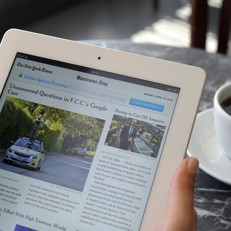 Innovative Ad Takeover Coming to 'New York Times' iPad App | Gotcha! Mobile Solutions | Scoop.it