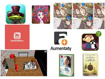 Las TIC y su utilización en la educación : 60 Libros Gratuitos con realidad aumentada para incentivar a la lectura | miaula | Scoop.it