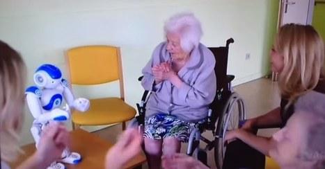 Zora, le petit robot créé pour accompagner les seniors | Seniors | Scoop.it