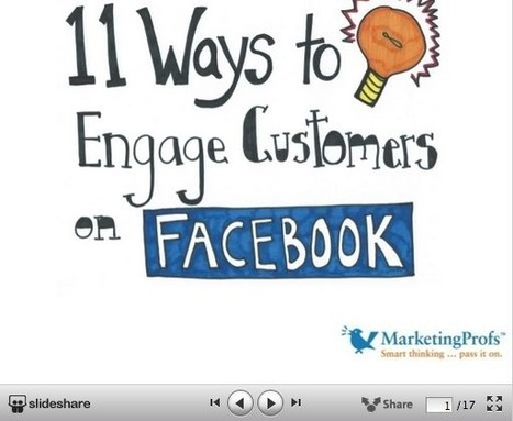 Three Ways You're Pushing Away Customers on Facebook… and 11 Ideas for Engaging Them [Slide Show] | Better know and better use Social Media today (facebook, twitter...) | Scoop.it