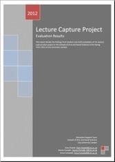 Lecture capture pilot project report - City Blogs - City University | Online learning | Scoop.it