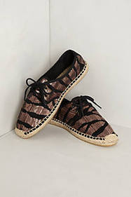 Shimmered Animalia Espadrilles | best space | Scoop.it