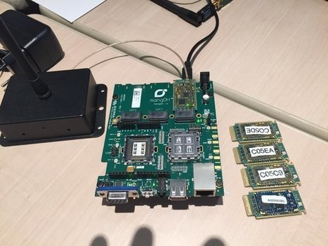 Démonstration des cartes IoT ATIM mangOH au Hackaton @sierradeveloper - Communication en SIGFOX et LoRa | Cloud Wireless | Scoop.it