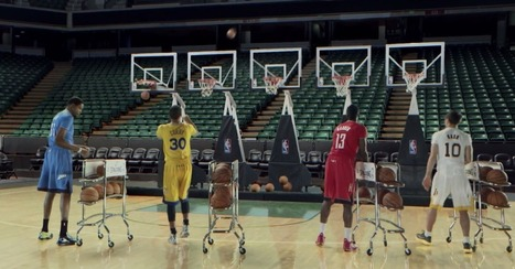 NBA Stars Perform a Slam-Dunk Rendition of 'Jingle Bells' [VIDEO] | Sports memes and viral videos | Scoop.it