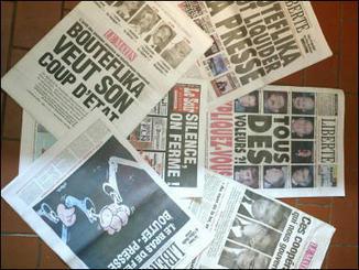 La presse écrite entame-t-elle son déclin en Algérie ? | Les médias face à leur destin | Scoop.it