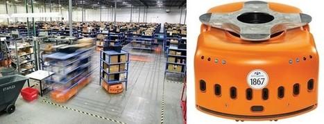 Amazing Warehouse Automation (Little orange rack lifting robots ... | Food Automation And Supermarket Warehouses | Scoop.it