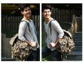 Mens urban canvas trek backpack   personalized canvas messenger bags and backpack   Scoop.it