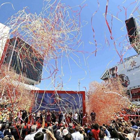 49ers Officially Open New Stadium - Bleacher Report | Sports | Scoop.it