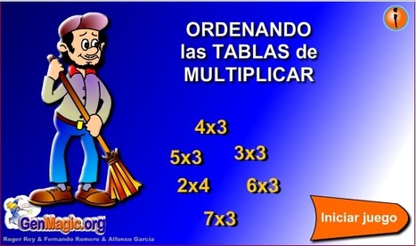 Ordenando las tablas de multiplicar - genmagic | Revista GenMagic | Scoop.it