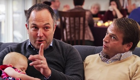 Gay Dads And Newborn Daughter Are Focus Of Insurance Commercial | Gay Family | Scoop.it