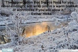 The appreciation that Source feels for you, never-endingly, will wrap you in a warm blanket of worthiness if you will allow it.  ― Esther Hicks   Psychic Readings Source   Scoop.it