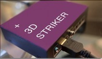 Revolutionary 3D Striker Makes your Boring 2D TV into Awesome 3D | 3D and Technology | Scoop.it
