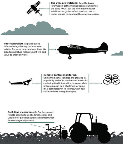 Remote sensing reawakens - Drones at Work | Drone in Agriculture | Scoop.it