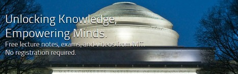 (EN) - Free Online Course Materials | MIT OpenCourseWare | Technology in teaching English | Scoop.it