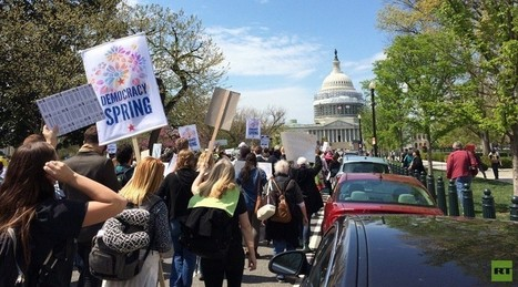 300+ arrested at 'Democracy Spring' sit-in at US Capitol (VIDEO) | Peer2Politics | Scoop.it