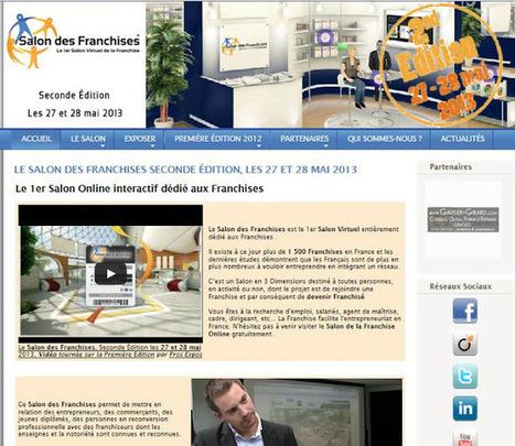 A la découverte des sites Internet: Le 1er salon virtuel dédié aux franchisés | Nevisto Blogspot | Salon virtuel des Franchises #2 | Scoop.it