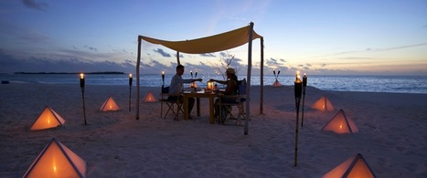 Romantic Dining Experience | Maldives Travel | Scoop.it