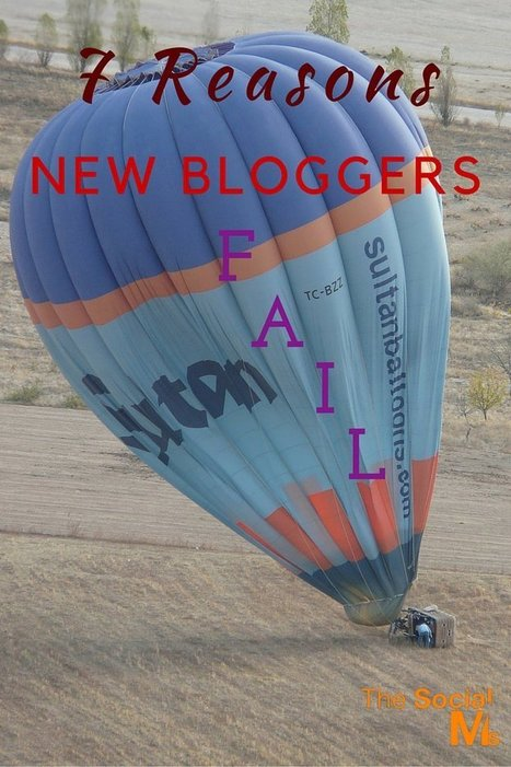 Blogging Success: 7 Reasons New Bloggers Fail | marketing tips | Scoop.it