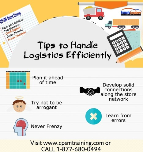 Handling Logistics Efficiently — cpsm certification | Supply Management | Scoop.it
