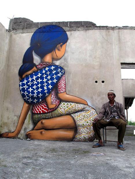The Globetrotting Street Art of Julien Malland | World of Street & Outdoor Arts | Scoop.it