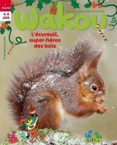 WAKOU n°333 : L'écureuil super-héros des bois | Les revues de la médiathèque | Scoop.it