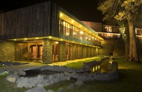 Arrebol Hotel in Patagonia by Harald Opitz | Awesome Architecture | Scoop.it