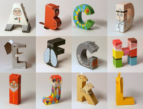 30 Attractive Free Alphabet Icons - CodeFear | soft skill | Scoop.it