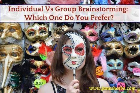 Individual Vs Group Brainstorming: Which One Do You Prefer? | Link Building 101 | Scoop.it