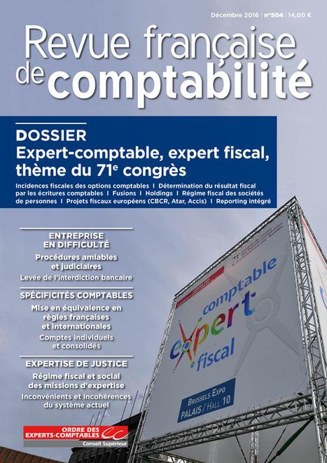 Expert-comptable, expert fiscal, thème du 71e congrès   Le Kiosque - GEA   Scoop.it
