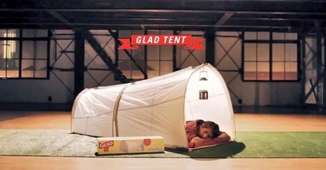 Glad's Brilliant Trash Bag Tent Could Solve the Waste Problem at Music Festivals | Festivals | Scoop.it