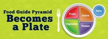 Food Guide Pyramid Becomes a Plate | Y System Dreulio | Scoop.it