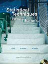 Test Bank For » Test Bank for Statistical Techniques in Business and Economics, 14th Edition: Lind Download | Business Statistics Test Bank | Scoop.it