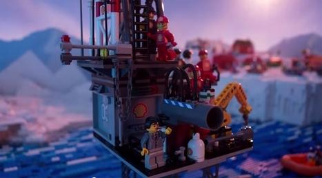 #Greenpeace parodie #Lego pour dénoncer son partenariat avec #Shell - #Arctique #video | Hurtigruten Arctique Antarctique | Scoop.it