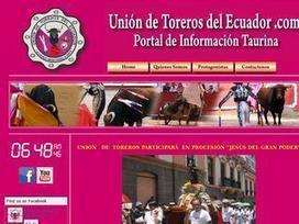 Union de Toreros Ecuador   TORO CAMPO   Toro Campo Annuaire Taurin   Scoop.it