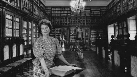 La Biblioteca nombra directora honoraria a Julia Méndez Aparicio   Desván de Lecturas   Scoop.it
